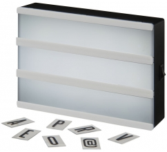 Cinema A5 decoratieve lightbox bedrukken